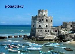 AK Leuchturm Somalia Mogadishu Old Lighthouse New Postcard - Vuurtorens