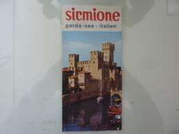 """Pieghevole """"SIRMIONE Lago Di Garda, Italia"""" 1964 - Dépliants Touristiques"""