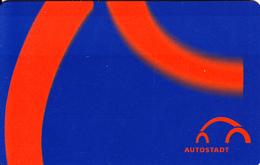 Carte Autostadt Parc De Loisirs Usine Volkswagen De Wolfsbourg Allemagne - Allemagne