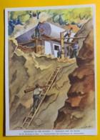 8125 - Militaire Nos Soldats à L'oeuvre Emplacement De Mitrailleuse En Construction - Suisse