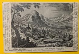 8135 - Chur Um 1650 Nach Merian Topographica Helvetiae - GR Grisons