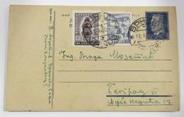 Yugoslavia 603+Ben15+ - Lettres & Documents