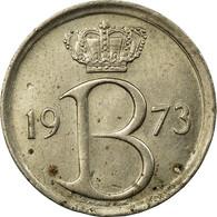Monnaie, Belgique, 25 Centimes, 1973, Bruxelles, TB+, Copper-nickel, KM:153.1 - 1951-1993: Baudouin I
