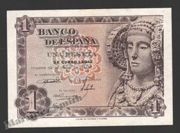 Banknote Spain -  1 Peseta – June 1948 – Dame Of Elche - Dama - Condition VF - Pick 135 - [ 3] 1936-1975 : Régence De Franco