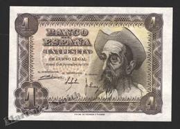 Banknote Spain -  1 Peseta – November 1951 – Don Quijote – Serie L – Condition UNC - Pick 139a - 5 Pesetas
