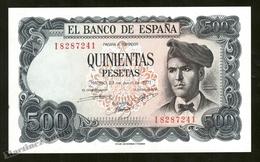 Banknote Spain -  500 Pesetas – July 1971 – Jacinto Verdaguer - Condition UNC - Pick 153a - [ 3] 1936-1975 : Regency Of Franco
