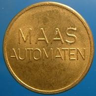 KB277-1 - MAAS AUTOMATEN - Veldhoven - B 20.0mm - Koffie Machine Penning - Coffee Machine Token - Professionnels/De Société