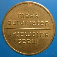 KB277-2 - MAAS AUTOMATEN - Veldhoven - B 20.0mm - Koffie Machine Penning - Coffee Machine Token - Professionals/Firms