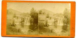Photos Stéréoscopiques -  Auvergne -  Cascade Des Saillants ( A 143) - Photos Stéréoscopiques