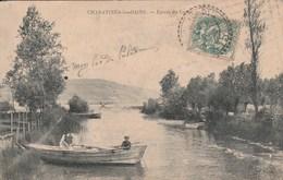 CHARAVINES LES BAINS Entrée Du Canal 649K - Charavines