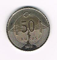 / TURKIJE  50  KURUS 2015 - Türkei
