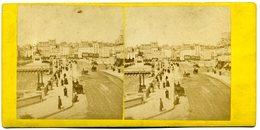 Photos Stéréoscopiques - Paris -  Pont  Neuf  Et Statue  D' Henri  IV ( A 146) - Photos Stéréoscopiques