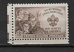 United States 1950 Boy Scouts Of America  MNH - Stati Uniti