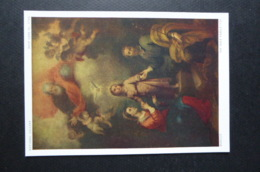 PAINTING PRINT CARD MINT THE HOLY FAMILY BY MURILLO - Paintings
