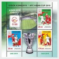 Kirgizië / Kyrgyzstan - Postfris/MNH - Sheet AFC Asian Cup 2019 - Kirgizië