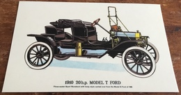 1910 20 H.p. Model T Ford - Passenger Cars