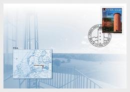 Letland / Latvia - Postfris/MNH - FDC Vuurtorens 2019 - Letland