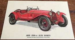 1932  1750 Cc Alpha Romeo - Passenger Cars