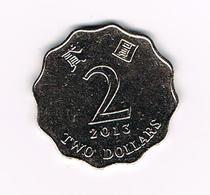 / HONG KONG  2 DOLLARS  2013 - Hong Kong