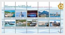 Liechtenstein - Postfris/MNH - Sheet Binnenscheepvaart 2019 - Ongebruikt