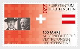 Liechtenstein - Postfris/MNH - 100 Jaar Representatie Liechtenstein In Het Buitenland 2019 - Ongebruikt