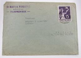 Yugoslavia 679+Viñeta 50p - Lettres & Documents
