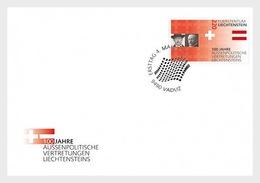 Liechtenstein - Postfris/MNH - FDC 100 Jaar Representatie Liechtenstein In Het Buitenland 2019 - Ongebruikt