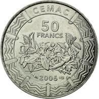Monnaie, États De L'Afrique Centrale, 50 Francs, 2006, Paris, SPL, Stainless - Cameroun