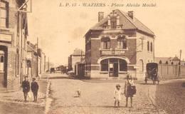 Waziers Place Alcide Moché - France