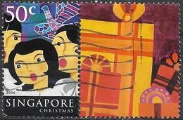 SINGAPORE 2004 Festivals - 50c - Carol Singers (Christmas) FU - Singapour (1959-...)