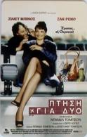 GREECE - Cinema,Jet Lag, Free Fone Promotion Prepaid Card, Tirage 1000, Exp.date 31/12/03, Mint - Grèce