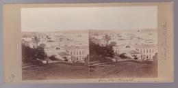 Stereoscopische Kaart.    Constantinople. Vue Générale Du Nouveau Palais Du Sultan ,à Dolma-Batché - Cartes Stéréoscopiques