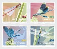 Liechtenstein - Postfris/MNH - Complete Set Libellen 2019 - Ongebruikt