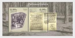 Litouwen / Lithuania - Postfris/MNH - Sheet Partizanen 2019 - Litouwen