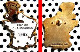 Arthus Bertrand : Promo Chaussures 1992 - Carte De France - Arthus Bertrand