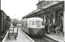 Photo - Thème Chemin De Fer- VFIL - Gare De Berck Plage - Tirage Original - Bazin Photo - Trains