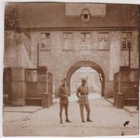 Photo Militaire Vers 1926 Strasbourg Quartier Lize - Guerre, Militaire