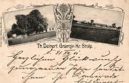 STOLP  ( SLUPSK, Pologne ), écrite En 1901 - Th. Deinert. Granzin Kr. Stolp - Pologne