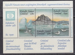 Greenland 1987 Hafnia  M/s ** Mnh (42218) - Blokken