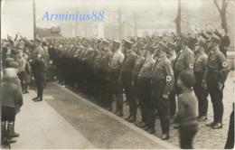 NSDAP - Gau Hamburg - Kreis I - Ortsgruppe Langenhorn - Hamburg Am 17. August 1934 - Politische Leiter - Guerre, Militaire