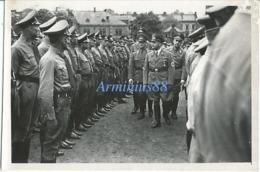 NSDAP - Gau Hamburg - Gauleiter Und Reichsstatthalter Karl Kaufmann - Hamburg, 24 August 1938 - Politische Leiter - Guerre, Militaire