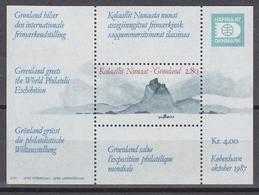 Greenland 1987 Hafnia M/s ** Mnh (42219) - Blokken