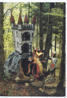 AK-40831 - Ruhpolding - Märchenpark -  Märchenschloss Und  Ritter Mit Feuerspeienden Drachen - Ruhpolding