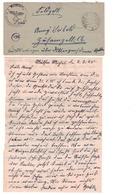 SS Feldpost - KZ KL Flossenbürg - Aussenarbeitslager Mülsen St. Micheln - 1945 - Storia Postale