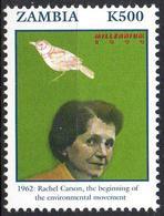 ZAMBIA - 1v - MNH** - Rachel Carson Environment Environnement Umweltschutz Protección Del Ambiente Birds Geflügel - Protection De L'environnement & Climat