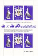 Christmas Island 1978 25th Anniversary Of Coronation Of QE II, Mint Never Hinged Sheetlet - Christmas Island