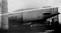 1936 - 1940 / 2 PHOTOS / DIRIGEABLE / ASTRA ZODIAC ( VEDETTE ) V 12 / AÉROSTATION MILITAIRE / AÉRONAVALE - Aviation