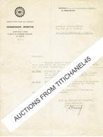 BRUXELLES - Lettre De 1948 - COMMISSION SPORTIVE DU ROYAL AUTOMOBILE CLUB BELGIQUE - Unclassified