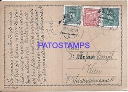 109166 CZECH REPUBLIC CADCA YEAR 1938 CIRCULATED TO AUSTRIA POSTAL POSTCARD - Tchéquie