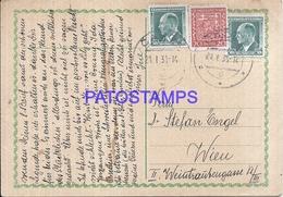 109167 CZECH REPUBLIC CADCA YEAR 1938 CIRCULATED TO AUSTRIA POSTAL POSTCARD - Tchéquie